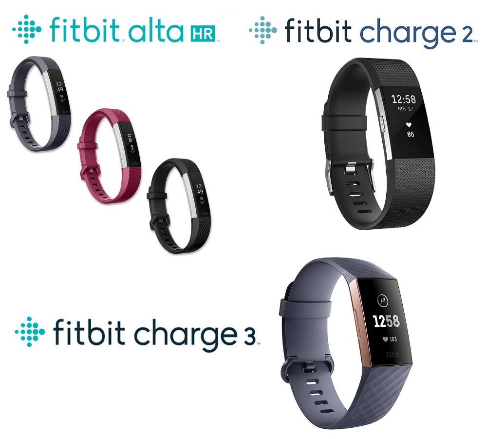 Fitbit Alta HR / Charge 2 / Charge 3心率 + 健身腕帶/追踪器 智能手錶 智能手環