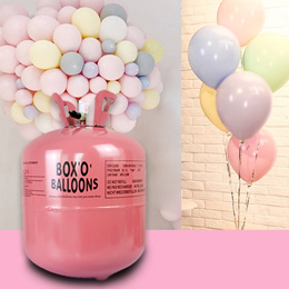 Disposable balloon helium gas cylinder Tank 7L/13.4L/22L  ✅Delivery Within 3 Days✅