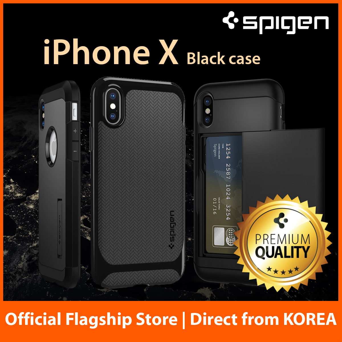 Spigen Official Store Premium Mobile Phone Accessories Case Iphone Xr Clear Anti Shock Ultra Hybrid Original Casing Matte Black Made In Korea Local Seller Fast Delivery