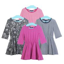 Dress Anak Perempuan - Tersedia 4 Warna - Size XS sampai XXL - Stok Terbatas !!!