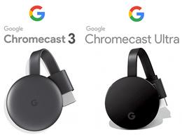Google Chrome Cast Chromecast 3 / Chromecast Ultra電視流媒體設備 / 語音控制
