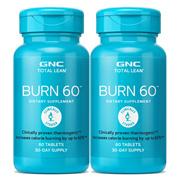 GNC Total Linburn 60 Tablets X 2