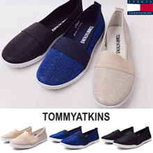 [TOMMY ATKINS] 2017 SPRING NEW DESIGN / MEGA HIT KOREA TRENDY SHOES / comfort quiting flat shoes