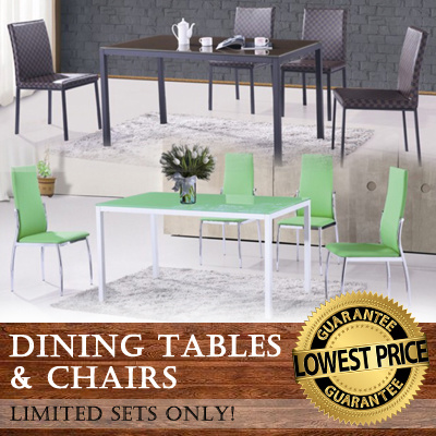Dining Table / Furniture / Living Home / Household Product / Dining Chair/ Dining Set Deals for only S$300 instead of S$0