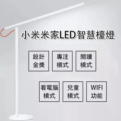 【正品】-小米智慧型LED檯燈- 台灣BSMI安全認證 | APP智慧操控 | 四種情境模式 | 獨特散熱結構 | 10000轉軸測試 | 保護眼睛同時也關心您的身體