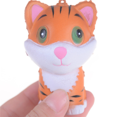 Cellphones & Telecommunications Kawaii Tiger Squeeze Jumbo Squishy Bread Soft Scented Cake Toys Doll Gift Super Slow Rising Animal Phone Straps Mobile Phone Accessories