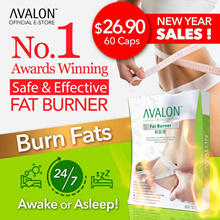 $59.90 180 capsules! (6100+ REVIEWS) SG #1 BestSelling AVALON™ Fat Burner