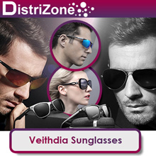 [GENUINE - ORIGINAL] Veithdia Sunglasses for both Men and Women - Polarised and UV400 Protected