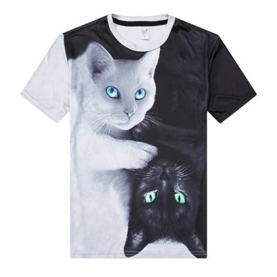 47ea4dde1577 Qoo10 - 2018 Fashion New Cool T-shirt Men Women 3d Tshirt Print two ...