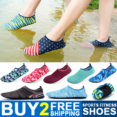 4bfeb0c7cccb Buy 2 Free Shipping Unisex Skin Shoes Aqua Shoes Swimming Shoes Sport Shoes  Water Shoes Hiking