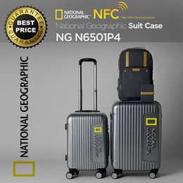 [National Geographic] ◆Authentic◆Star Sign Collection Travel Carrier NFC Luggage SuitCase NG-N6501P4 20 24 inches Polycarbonate