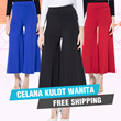 Celana Kulot Wanita / Aneka Warna - Good Quality / Fit To XXL