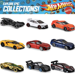 New! Limited Qty Authentic HotWheels Cars Assorted Models/ Batman. Great gifts for children