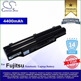 CameronSino Battery for Fujitsu LifeBook SH560 / SH572 / SH760 / SH762 / SH762/E Battery L-FU8310NB