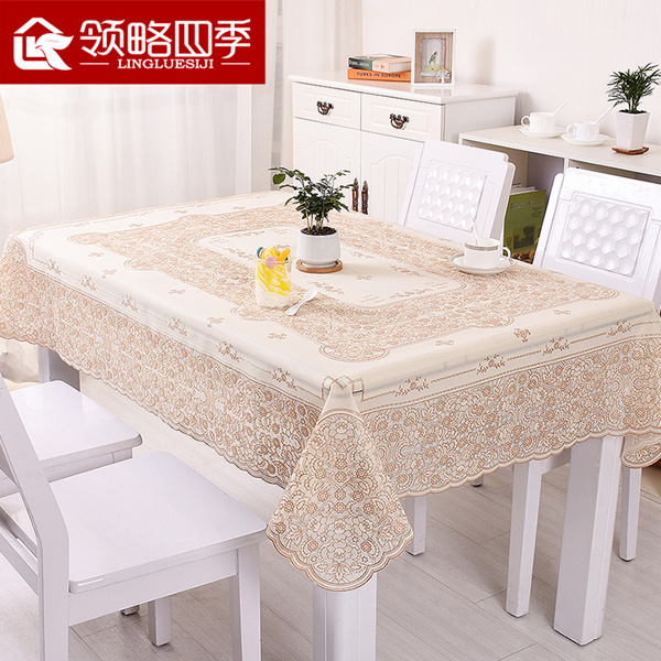 Buy Hot Cloth Waterproof And Hot Disposable PVC Table Cloth Fabric - Table pad fabric
