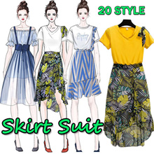 Special Promo ! Premium New Style Korean Fashion Suit / Sweet Girl Suit / Skirt Suit / Pant Suit
