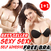 YEAR END SALE!!![BELI 1 GRATIS 1] CELEBRITY PUSH UP SEXY STRAPLESS BRA FREE BRA BUTTERFLY BRA NU BRA ★ REAL TESTIMONY ★ RECCOMENDED ★ NEW FASHION WAY ★ COMFORT CONFIDENT!!