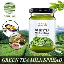 Osulloc Green Tea Milk Spread 200g / Amore Pacific / Made with premium quality green tea powder
