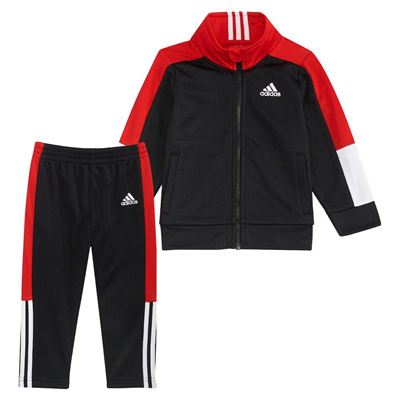 bb138aae334b Qoo10 - Adidas adidas Boys Tricot Jacket and Pant Set   Baby   Maternity