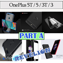 [PART A] ★Stocks in SG★ OnePlus 5T / OnePlus 5 / OnePlus 3 | 3T Case Casing Cover Screen Protector
