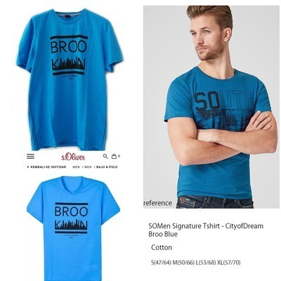 SOMEN Signature Tshirt Great BrooBlue