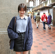 ★ Korea Premium Fashion Brand ★ free shipping ♥ Loose-fit Daily Cardigan / leila cardigan