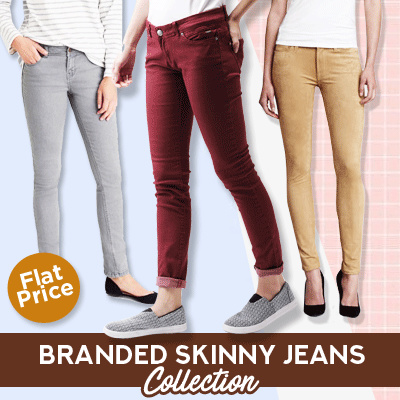 New Collection Skinny Jeans Ladies Style/Skinny Jeans/Women Jeans/Branded Jeans Deals for only Rp60.000 instead of Rp60.000
