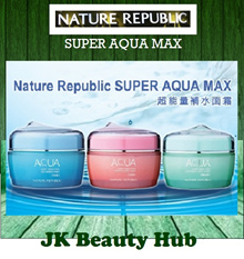 [Nature Republic] Super Aqua Max Moisture Watery / Combination / Fresh Cream (Re-stocked !!)
