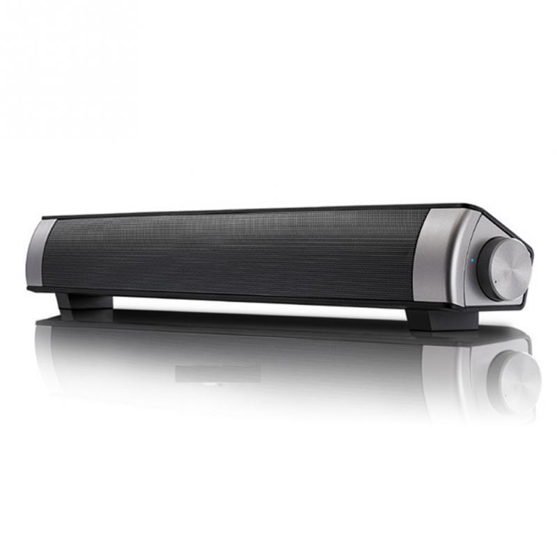 NEW TV Home Theater Bluetooth Sound Bar Speaker System w/slim Subwoofer  HIFI Soundbar with TF Card A
