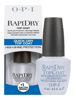 OPI Rapidry Top Coat 15ml (Without Box Packaging)