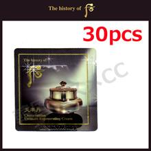 【The history of whoo】 Cheonyuldan Ultimate Regenerating Cream 1mlx30pcs / Sample