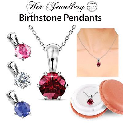 Vmall crystals from swarovski her jewellery birth stone pendants sg seller ready stock aloadofball Choice Image