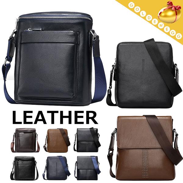 ?Cowhide Shoulder Bags for Men? Laptop^Sling^Messenger Bag/ Travel Bag-3 Styles Deals for only S$120 instead of S$0