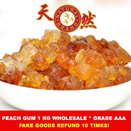 [Quality Product GRADE AAA] ❤ Peach Gum★桃胶 1kg★ ❤ Great taste and Nutritious