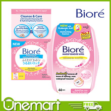 [KA0 BIORE] Cleansing Makeup Remover Cotton ★ Sheet 44s ★ BEST BUY ★ MUST HAVE ★ Tub/Refill