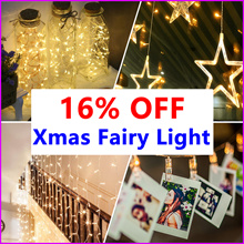 ★12.12 Grand Sale★ SG Delivery ★ Christmas Fairy Lights ★  Battery Operated For Party Wedding decor