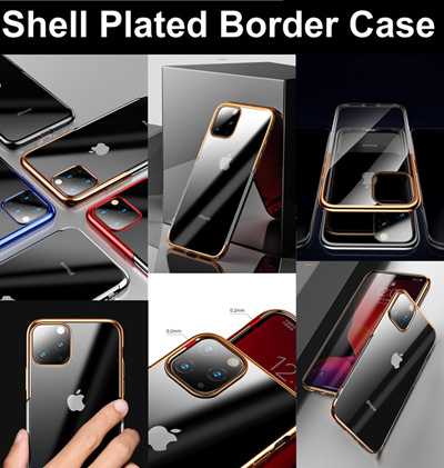 Shell Plated Border Case