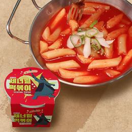 *Cup* J-Kitchen Korean Rice Cake Topokki Hot Spicy Tteok-bokki Desert Micro wave Food set(4cups)
