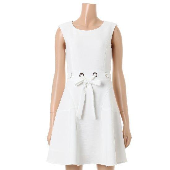 ジジピエクスマシュマロ袖なしのワンピースIGB5OP730F 面ワンピース/ 韓国ファッション