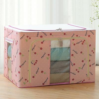 Dust Free Storage Box 66L Pink Cherry
