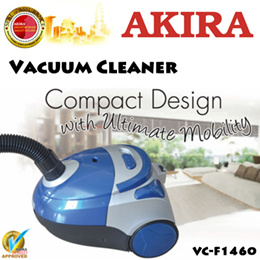 Akira Vacuum Cleaner VC-F1460 / 1400w / With 5 Stage Filter System