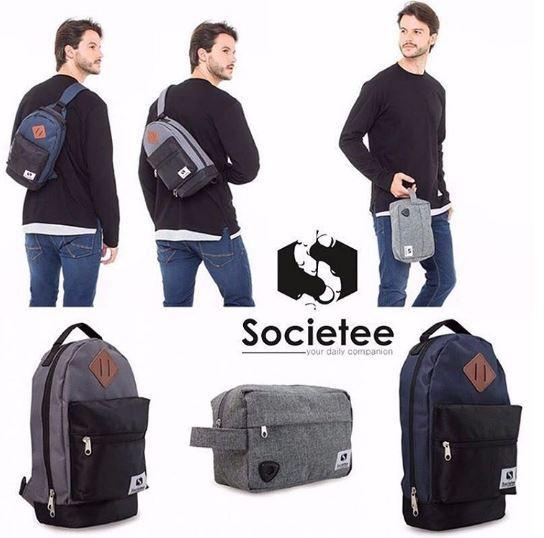 [SOCIETEE] Unisex Travel Kit And Unisex Shoulder Bag // Pouch Multifungsi dan Tas Slempang Unisex Deals for only Rp149.000 instead of Rp149.000