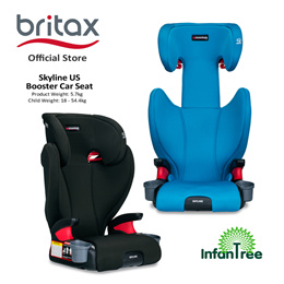 Britax Essentials Skyline US Booster Car Seat | 18.1 - 54.4kg