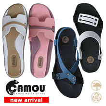 CAMOU NEW ARRIVAL UNISEX SANDALS - SHOES - FLAT SLIPPERS - FLIP FLOPS