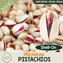 Premium Pistachios from IRAN (300g) [TheNutsWarehouse]