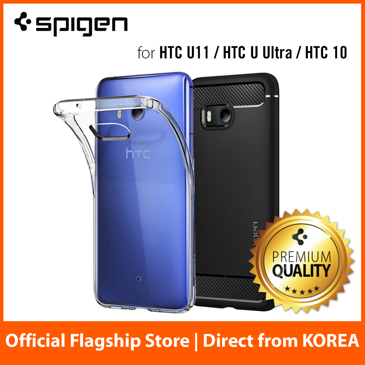 Qoo10 Spigen Htc U11 Mobile Accessories Galaxy Note 9 Case Ultra Hybrid Clear Original Casing Show All Item Images