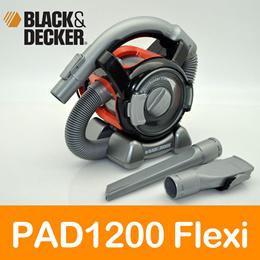Black  Decker PAD1200 PD1200AV Flexi Car Vacuum Cleaner