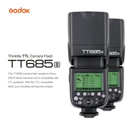 Godox TT685 Thinklite TTL Flash (TT685S for Sony Cameras)
