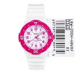 fb04466e7 Casio Quartz Analog Pink Ladies Sports Watch LRW-200H-4BVDF LRW-200H-