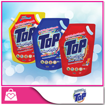 [Top] Concentrated Liquid Detergent (Anti-Bacterial / Super Colour / Super White) 1.8kgx6
